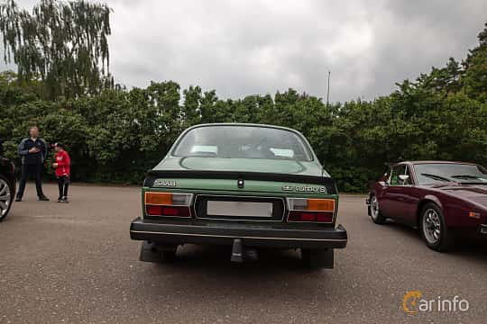 Bak av Saab 99 2-door Sedan 2.0 Turbo Manual, 145ps, 1980 på Saxtorp Saabklubbens Skånia marknad 2019