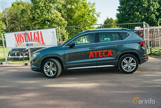 Side  of SEAT Ateca FR 2.0 TSI 4Drive DSG Sequential, 190ps, 2019 at Ronneby Nostalgia Festival 2019