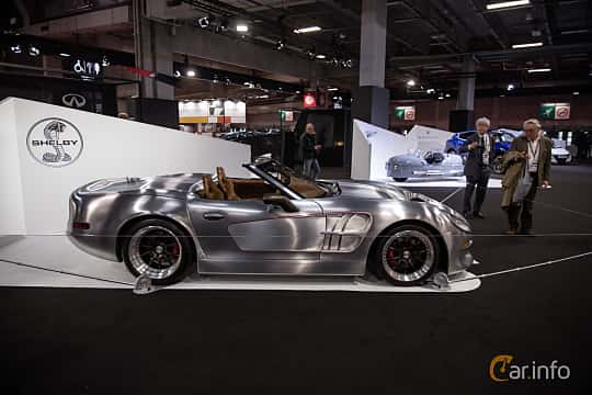 Sida av Shelby Series 2 7.0 V8 Manual, 811ps, 2018 på Paris Motor Show 2018