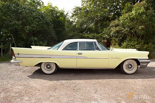 Sida av Chrysler Saratoga 2-door Hardtop 5.8 Automatic, 314ps, 1958