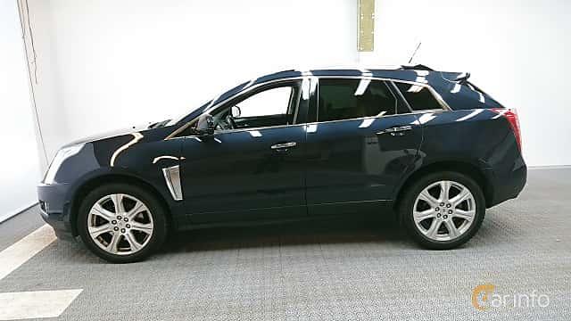 Side  of Cadillac SRX 3.6 V6 AWD Automatic, 311ps, 2014