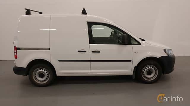 Sida av Volkswagen Caddy Panel Van 1.6 TDI Manual, 75ps, 2014