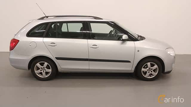 Sida av Skoda Fabia Combi 1.4 TDI Manual, 80ps, 2008