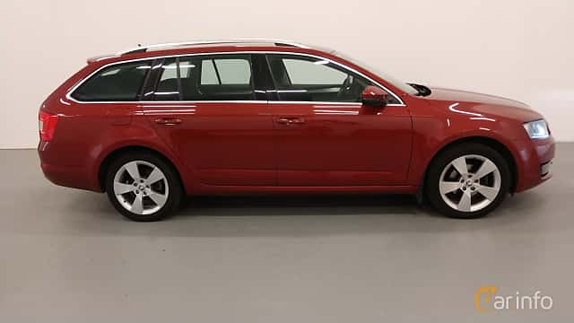 Sida av Skoda Octavia Combi 1.4 CNG Manual, 110ps, 2015