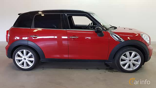 Side  of MINI Cooper S Countryman 1.6 Manual, 184ps, 2014