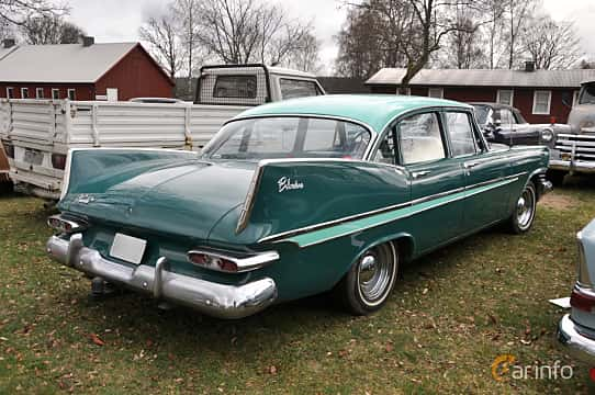 Side  of Plymouth Belvedere 4-door Sedan 5.2 V8 TorqueFlite, 233ps, 1959