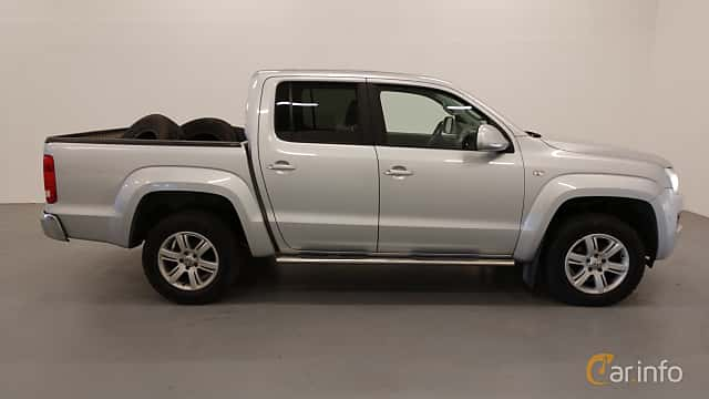 Side  of Volkswagen Amarok Dual Cab 2.0 BiTDI 4Motion Manual, 163ps, 2012