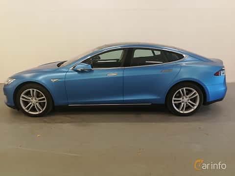 Sida av Tesla Model S 90D 90 kWh AWD Single Speed, 423ps, 2016