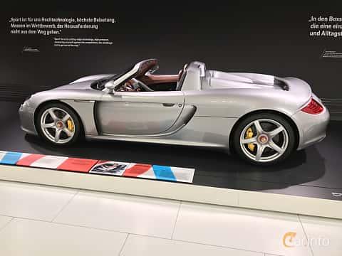 Sida av Porsche Carrera GT 5.7 V10 Manual, 612ps, 2003