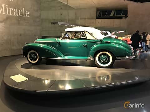 Sida av Mercedes-Benz 300 S Cabriolet A  Manual, 150ps, 1954