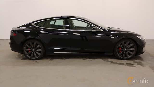 Sida av Tesla Model S P85D 85 kWh AWD Single Speed, 511ps, 2015