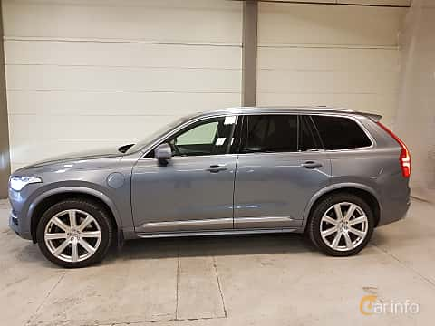 Side of Volvo XC90 T8 AWD Geartronic, 407ps, 2018