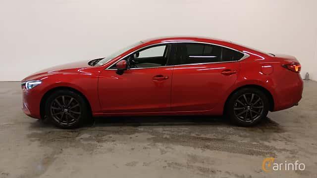 Side  of Mazda 6 Sedan 2.5 SKYACTIV-G Automatic, 192ps, 2017
