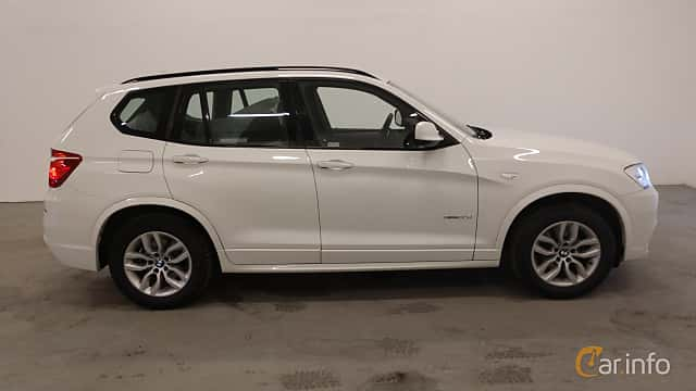 Sida av BMW X3 xDrive30d  Steptronic, 258ps, 2013