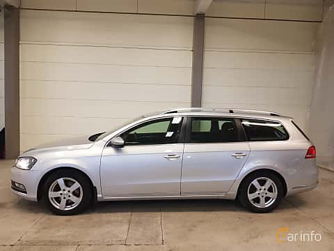 Sida av Volkswagen Passat Variant 2.0 TDI BlueMotion 4Motion  Manual, 140ps, 2014