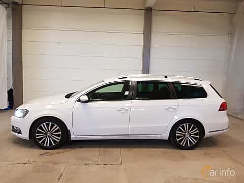 Sida av Volkswagen Passat Variant 2.0 TDI BlueMotion  DSG Sequential, 170ps, 2012