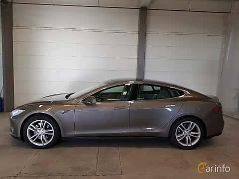 Sida av Tesla Model S 85D 85 kWh AWD Single Speed, 423ps, 2015