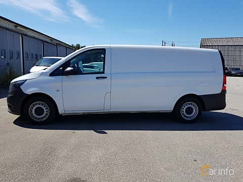 Side  of Mercedes-Benz Vito 116 d  7G-Tronic Plus, 163ps, 2018