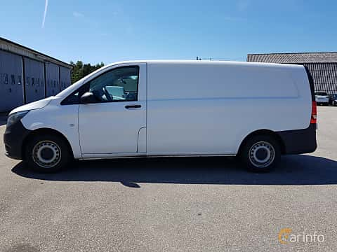 Side  of Mercedes-Benz Vito 114 CDI  7G-Tronic Plus, 136ps, 2015