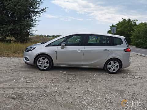 Sida av Opel Zafira Tourer 1.4 Turbo  140ps, 2012