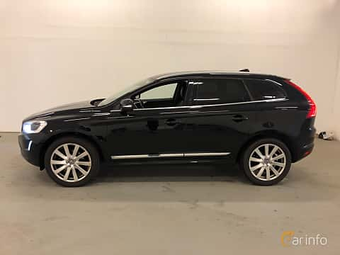 Side  of Volvo XC60 D4 AWD Geartronic, 190ps, 2017