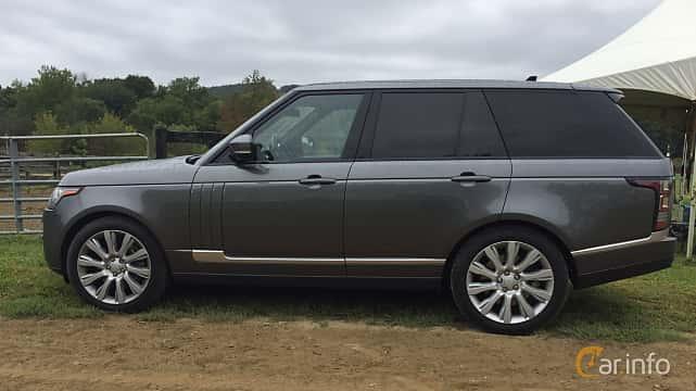 Sida av Land Rover Range Rover 5.0 V8 4WD Automatic, 510ps, 2016