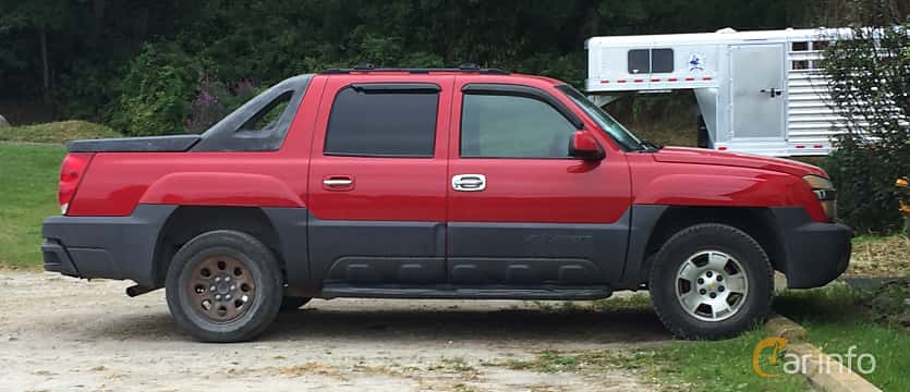 Sida av Chevrolet Avalanche 2002