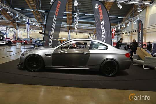 Sida av BMW M3 GT4  Drivelogic, 480ps, 2010 på Bilsport Performance & Custom Motor Show 2019