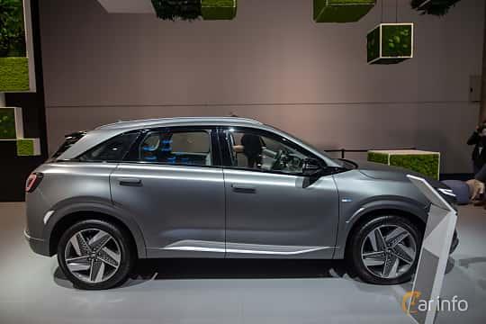 Sida av Hyundai Nexo FuelCell Single Speed, 163ps, 2020 på IAA 2019