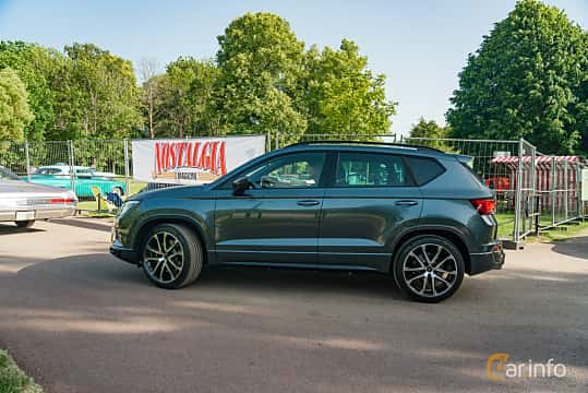 Side  of Cupra Ateca 2.0 TSI 4Drive DSG Sequential, 300ps, 2019 at Ronneby Nostalgia Festival 2019
