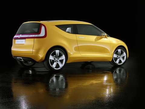 Back/Side of Skoda Joyster Concept Concept, 2006