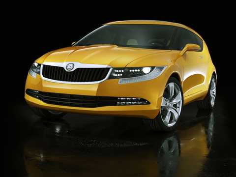 Front/Side  of Skoda Joyster Concept Concept, 2006