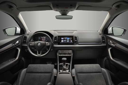 Interior of Skoda Karoq 1st Generation