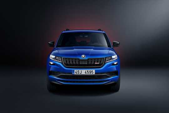 Front  of Skoda Kodiaq RS 2.0 TDI 4x4 DSG Sequential, 240hp, 2019