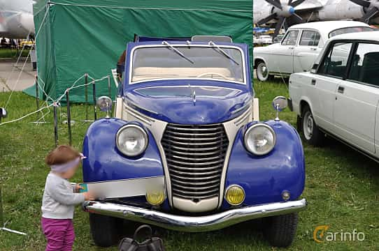 Fram av Skoda Popular 1100 OHV Convertible 1.1 Manual, 30ps, 1939 på Old Car Land no.1 2019