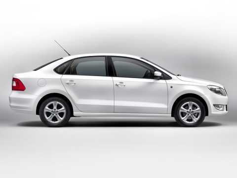 Side  of Skoda Rapid (India) 2011