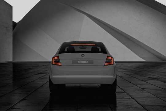 Back of Skoda Vision D Concept Concept, 2011