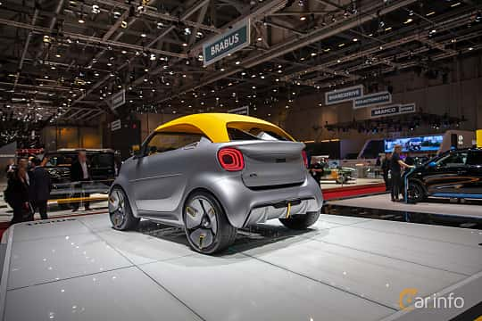 Back/Side of Smart Forease 0 kWh Single Speed, 82ps, 2019 at Geneva Motor Show 2019
