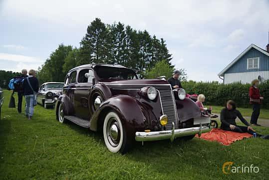 Studebaker Dictator Custom Sedan 3 6 Manual, 90hp, 1937