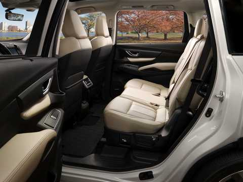 Interior of Subaru Ascent 2.4 AWD Lineartronic, 264hp, 2018