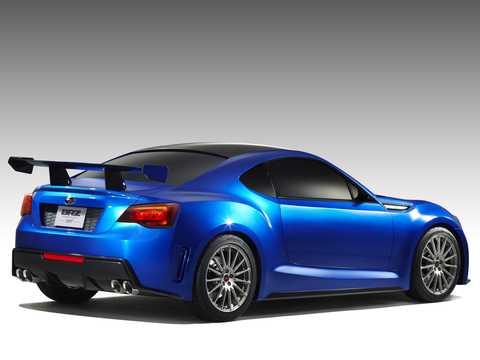 Back/Side of Subaru BRZ STi Concept Concept, 2011