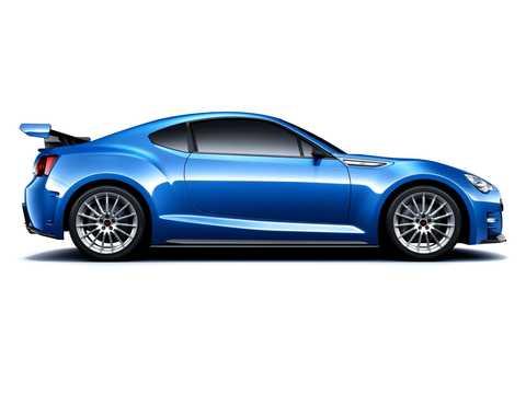 Side  of Subaru BRZ STi Concept Concept, 2011