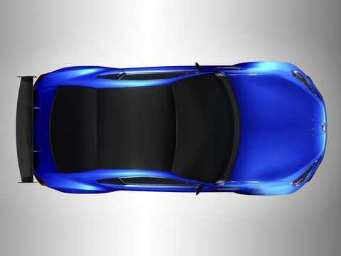 Top  of Subaru BRZ STi Concept Concept, 2011