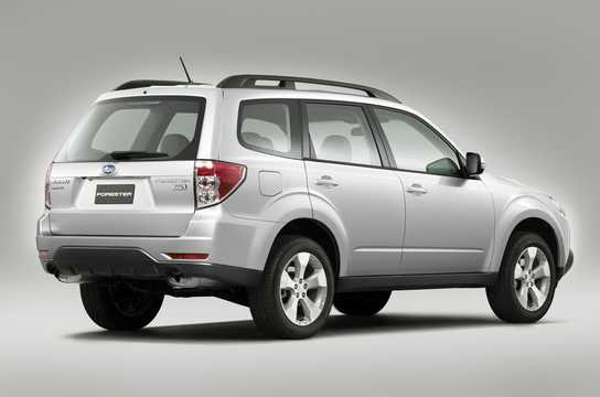 Back/Side of Subaru Forester 2011