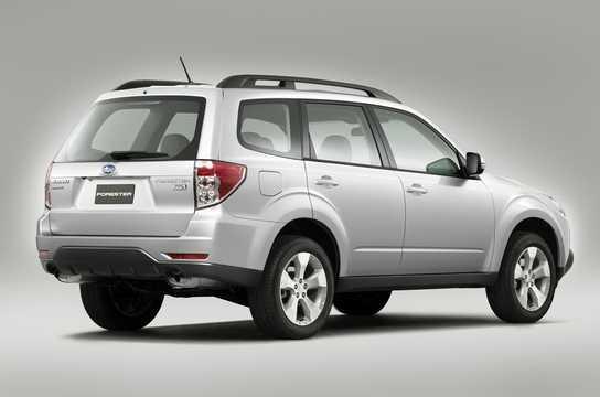 Bak/Sida av Subaru Forester 2011