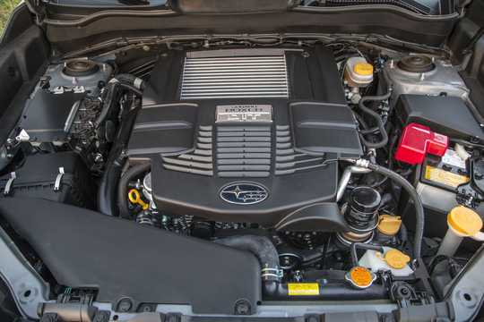 Engine compartment  of Subaru Forester 2.0 4WD Lineartronic, 241hp, 2017
