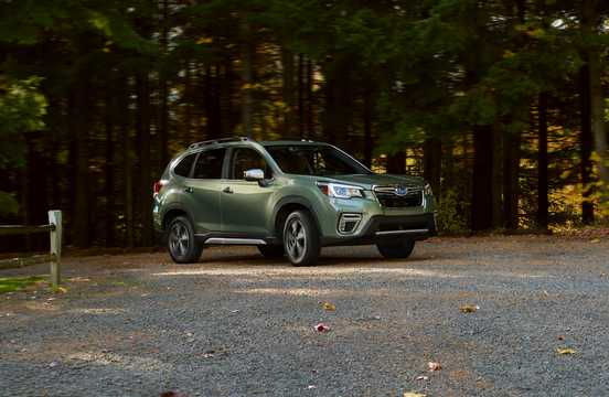 Front/Side  of Subaru Forester 2.5 4WD Lineartronic, 185hp, 2019