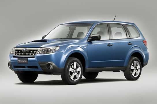 Front/Side  of Subaru Forester 2011