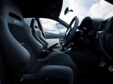 Interior of Subaru WRX STi S206 2.0 4WD Manual, 319hp, 2011