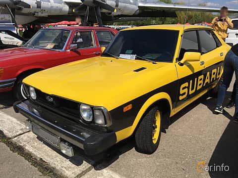 Front/Side  of Subaru Leone 4-door Sedan 1977